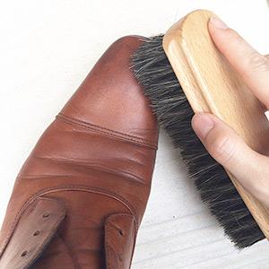 革靴カビお手入れ