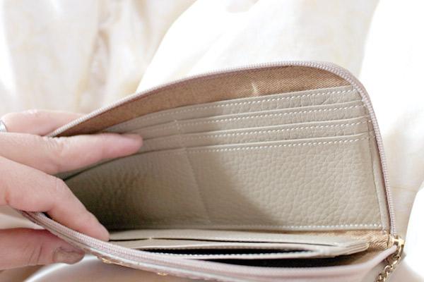 いつのまにかずいぶん汚れた布財布のクリーニング
