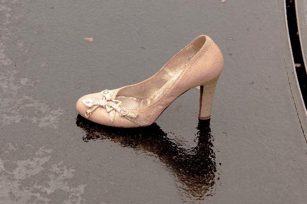 雨に濡れた靴 その日の内にやっておきたいこと