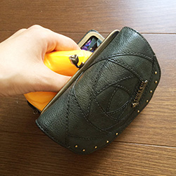 財布 お手入れ