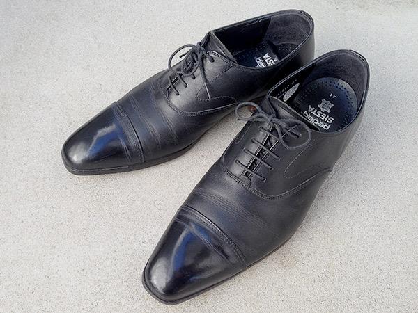 「革靴のハイシャイン(鏡面磨き)」お手入れレポート byお手入れビギナー西村