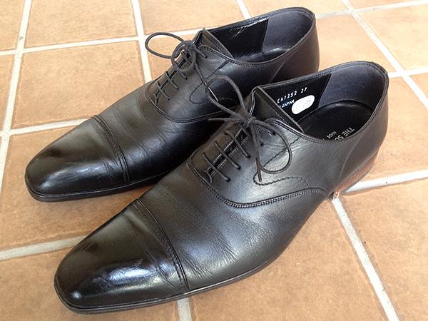 「紳士革靴のクリーニング」お手入れレポート byお手入れビギナー西村