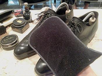 革靴 お手入れ