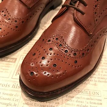 革靴 お手入れ メダリオン