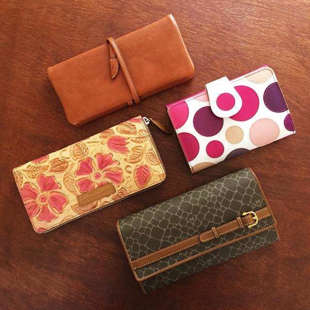 春(張る)財布、お手入れしましょう
