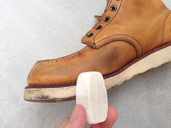 ソフトガミ 靴 お手入れ レッドウィング