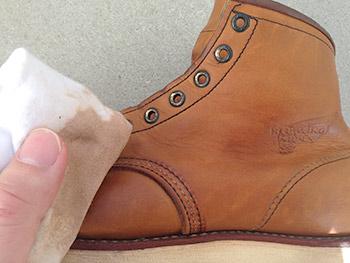 靴 お手入れ レッドウィング