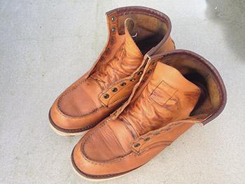 レッドウィング 靴 お手入れ