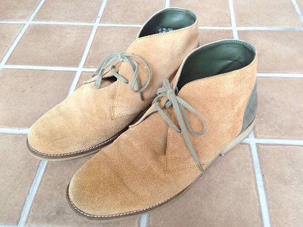 「スエード靴のクリーニング」お手入れレポート byお手入れビギナー西村